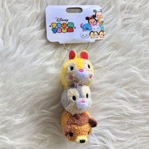 Disney Store Japan Bambi Tsum Tsum Keychain Plush